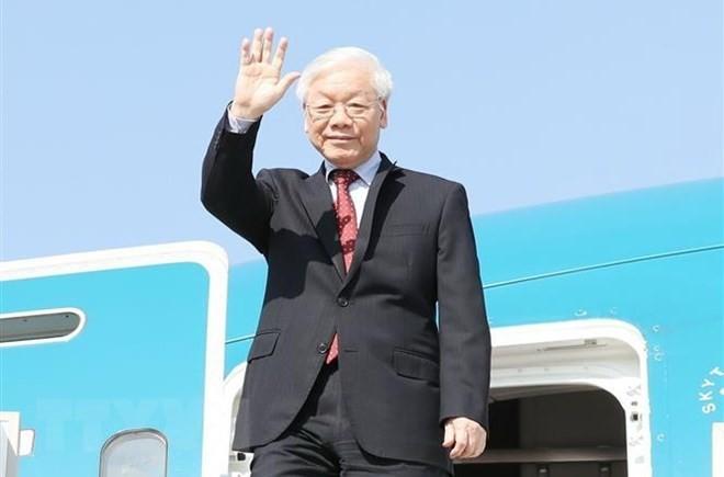 Kết quả tốt đẹp chuyến thăm Nga và Hungary của Tổng bí thư Nguyễn Phú Trọng - ảnh 1