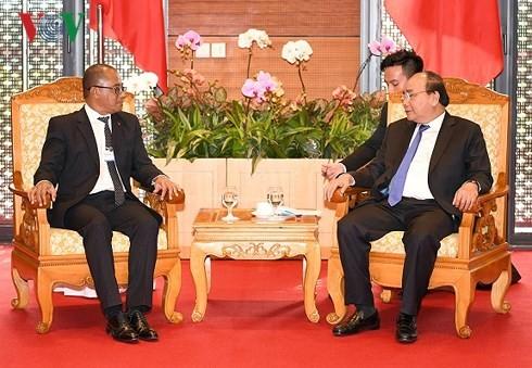 Thủ tướng Nguyễn Xuân Phúc tiếp Bộ trưởng Ngoại giao và Hợp tác Timor-Leste ông Dionisio Babo Soares - ảnh 1