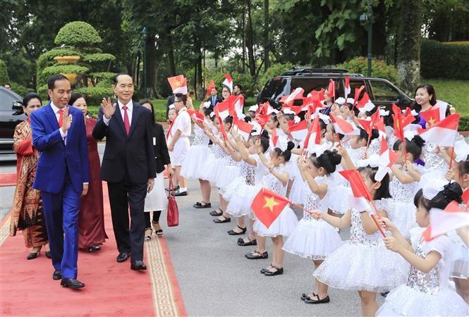 Tổng thống Cộng hòa Indonesia kết thúc chuyến thăm cấp Nhà nước Việt Nam - ảnh 1