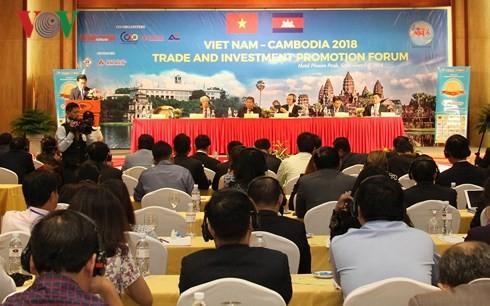 Diễn đàn Xúc tiến thương mại, đầu tư Việt Nam – Campuchia 2018 - ảnh 1