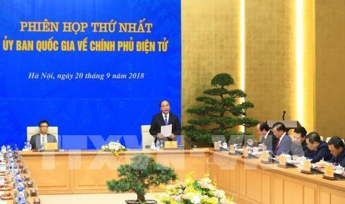 Thủ tướng Nguyễn Xuân Phúc: Sự hài lòng của tổ chức, cá nhân là thước đo của việc phát triển Chính phủ điện tử - ảnh 1