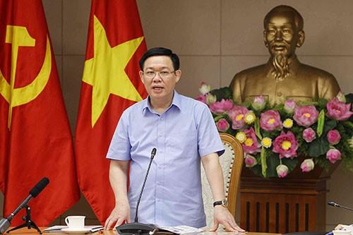 Phó Thủ tướng Vương Đình Huệ chủ trì họp Tổng kết đánh giá công tác điều hành giá và kiểm soát lạm phát 9 tháng qua - ảnh 1