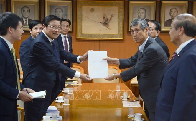 Trưởng ban Nội chính Trung ương Phan Đình Trạc thăm và làm việc tại Nhật Bản - ảnh 1