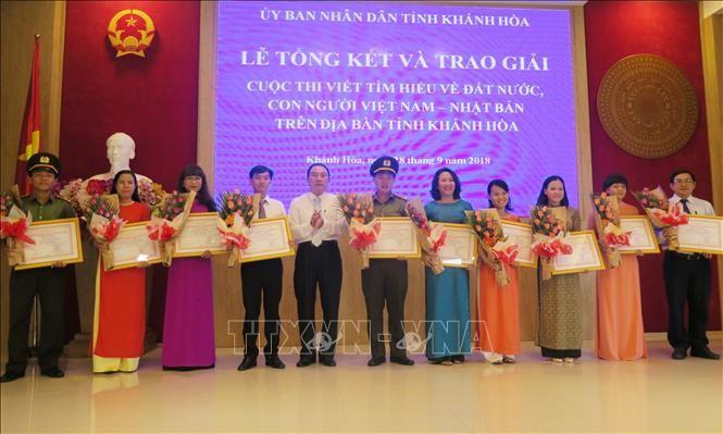 Trao thưởng cuộc thi viết  về đất nước, con người Việt Nam – Nhật Bản - ảnh 1