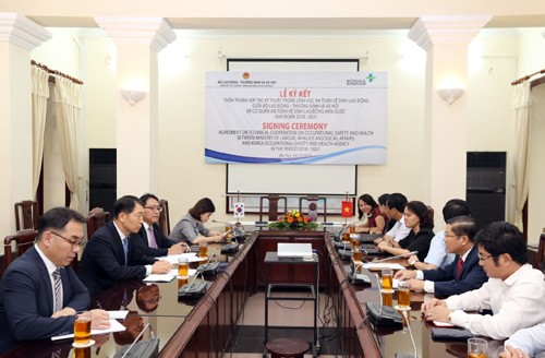 Tăng cường hợp tác trong lĩnh vực an toàn vệ sinh lao động giữa Hàn Quốc và Việt Nam - ảnh 1
