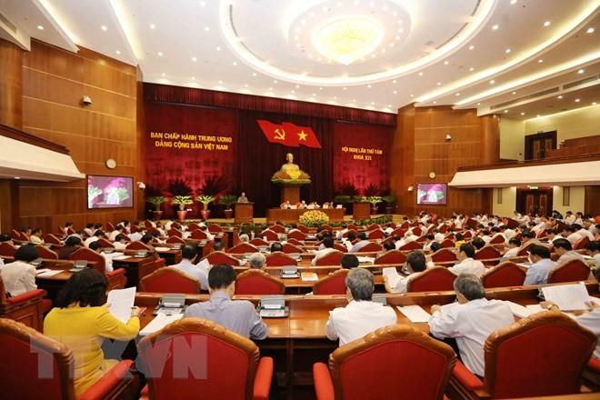 Trung ương thảo luận về Quy định trách nhiệm nêu gương của cán bộ, đảng viên - ảnh 1