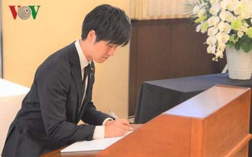Lễ viếng nguyên Tổng bí thư Đỗ Mười tại Nhật Bản - ảnh 2