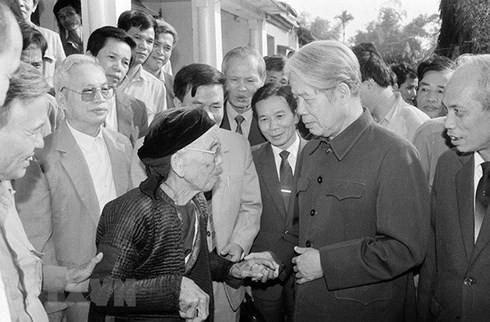 4 dấu ấn nổi bật trong sự nghiệp của nguyên Tổng Bí thư Đỗ Mười - ảnh 1