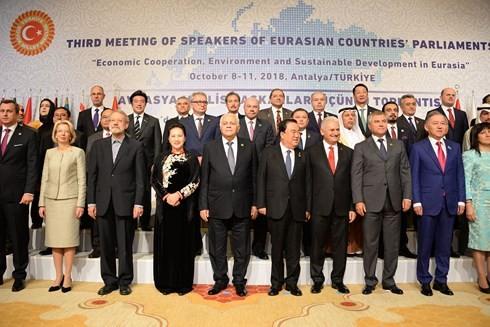 Khai mạc Hội nghị Chủ tịch Quốc hội Á Âu lần thứ 3 - ảnh 1