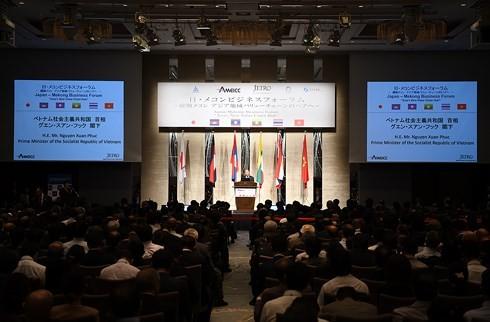 Thủ tướng Nguyễn Xuân Phúc dự Diễn đàn Đầu tư Mekong-Nhật Bản - ảnh 2