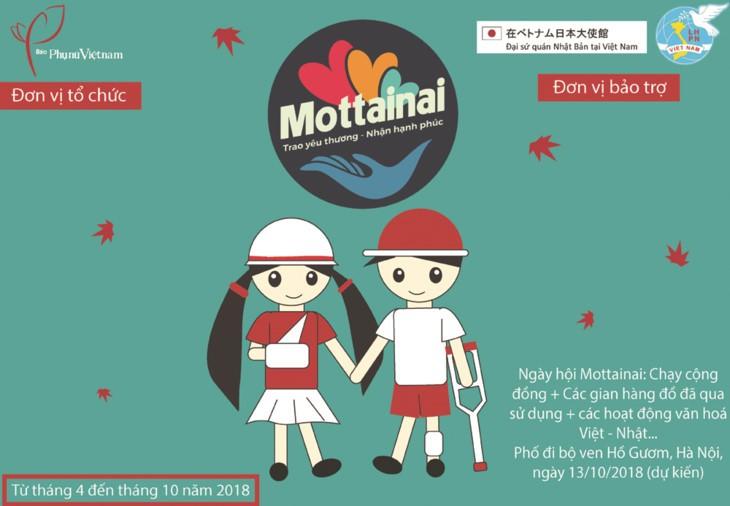 """Chương trình Mottainai """"Trao yêu thương - nhận hạnh phúc"""" - ảnh 1"""