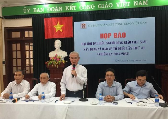 Đại hội đại biểu người Công giáo Việt Nam xây dựng và bảo vệ Tổ quốc lần thứ 7, nhiệm kỳ 2018-2023 - ảnh 1