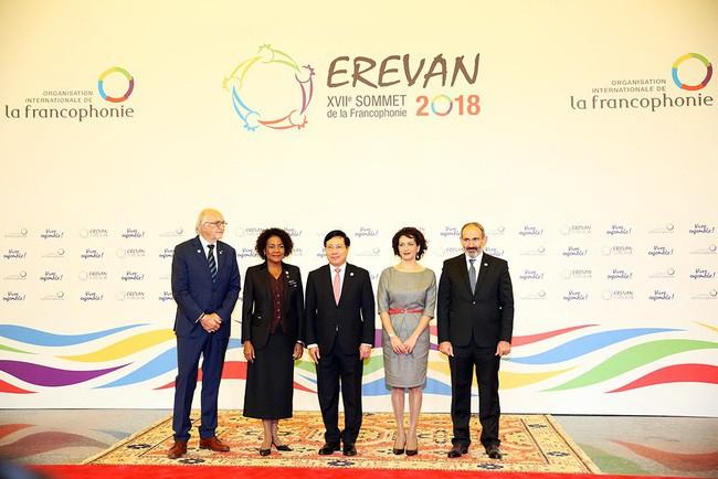 Việt Nam đóng góp tích cực tại Hội nghị Cấp cao Pháp ngữ lần thứ 17 - ảnh 1