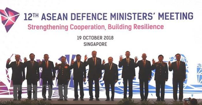 ADMM 12: ASEAN thiết lập mạng lưới ứng phó các thách thức an ninh mới - ảnh 1