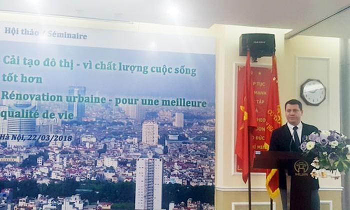 Hợp tác Pháp - Việt về bảo tồn di sản kiến trúc đô thị - ảnh 4