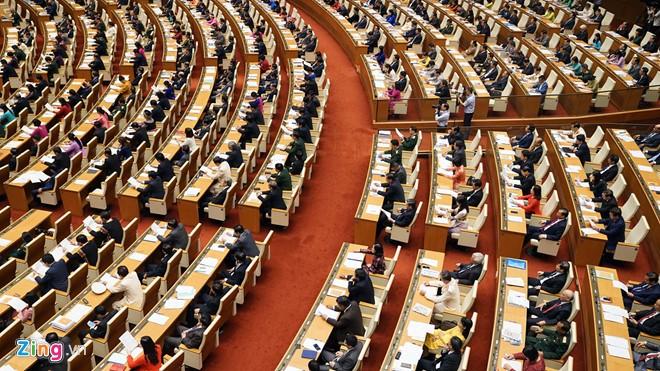 Quốc hội thảo luận dự án Luật Đặc xá (sửa đổi), dự án Luật Chăn nuôi - ảnh 1