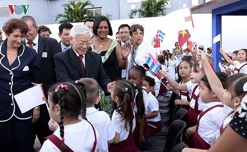 Thúc đẩy quan hệ đặc biệt Việt Nam – Cuba là nhiệm vụ của hai dân tộc - ảnh 1