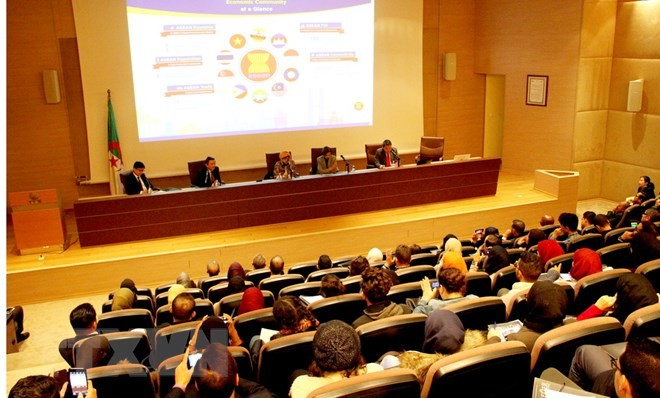 """Hội thảo về ASEAN với chủ đề """"Thống nhất, hòa bình và thịnh vượng""""           - ảnh 1"""