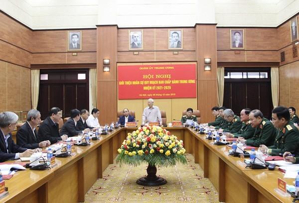 Giới thiệu nhân sự cán bộ Quân đội quy hoạch Ban Chấp hành Trung ương nhiệm kỳ 2021-2026 - ảnh 1