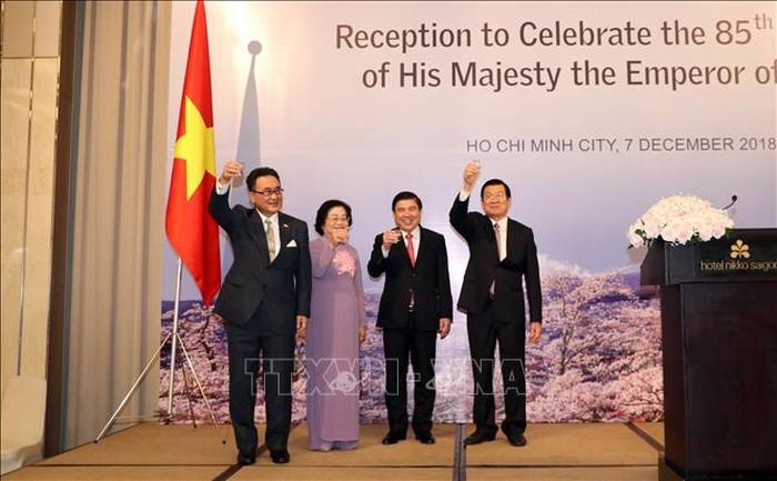 Kỷ niệm sinh nhật lần thứ 85 của Nhật Hoàng Akihito tại Thành phố Hồ Chí Minh - ảnh 1