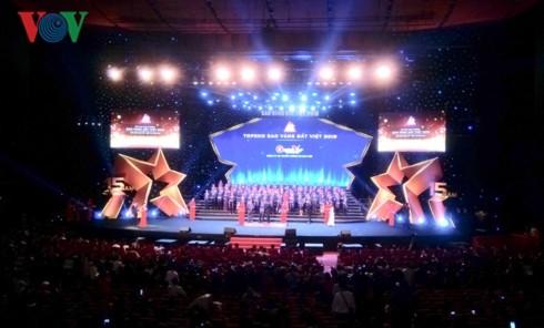 200 doanh nghiệp tiêu biểu nhận Giải thưởng Sao Vàng đất Việt 2018 - ảnh 1