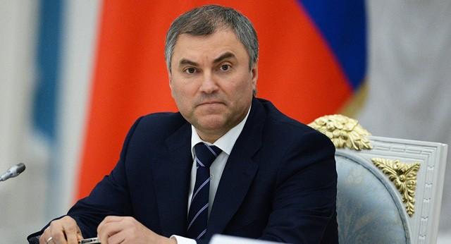 Chủ tịch Duma quốc gia Liên bang Nga bắt đầu thăm chính thức Việt Nam - ảnh 1
