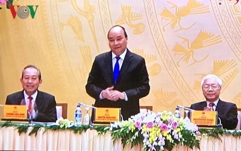 Hội nghị trực tuyến của Chính phủ với các địa phương - ảnh 1