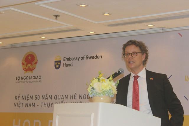 Việt Nam - Thụy Điển, 50 năm quan hệ hợp tác hướng tới tương lai - ảnh 2