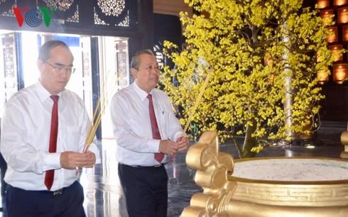 Phó Thủ tướng Trương Hòa Bình dự họp mặt truyền thống cách mạng Sài Gòn – Chợ Lớn – Gia Định – Thành phố Hồ Chí Minh  - ảnh 1