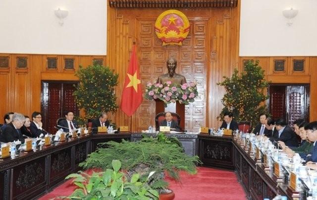 Thủ tướng Nguyễn Xuân Phúc chủ trì họp Thường trực Chính phủ về tổng kết tình hình Tết Nguyên đán 2019 - ảnh 1