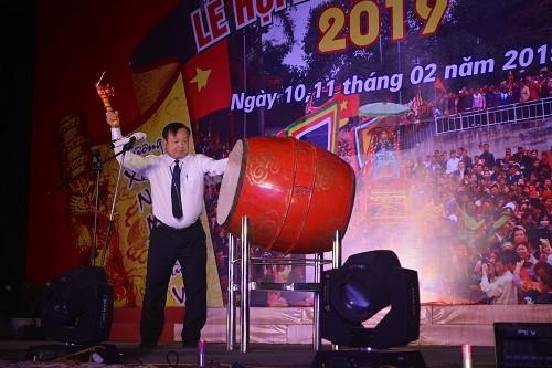 Khai mạc Lễ hội Đền Đông Cuông năm 2019 - ảnh 1