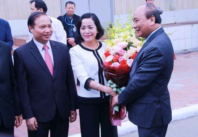 Thủ tướng Nguyễn Xuân Phúc động viên hoạt động sản xuất kinh doanh tại Hà Nội và Ninh Bình - ảnh 1