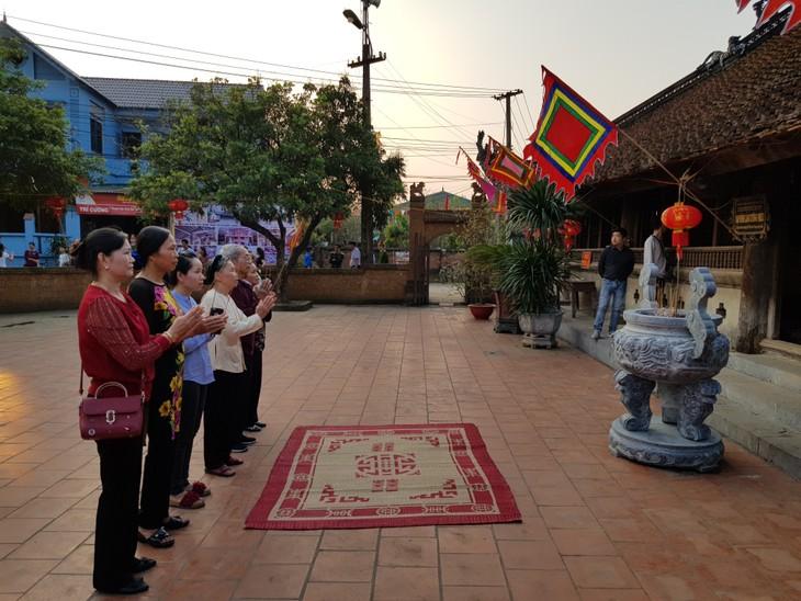 Trao bằng Di tích quốc gia đặc biệt đình Tường Phiêu, xã Tích Giang, huyện Phúc Thọ, Hà Nội - ảnh 2