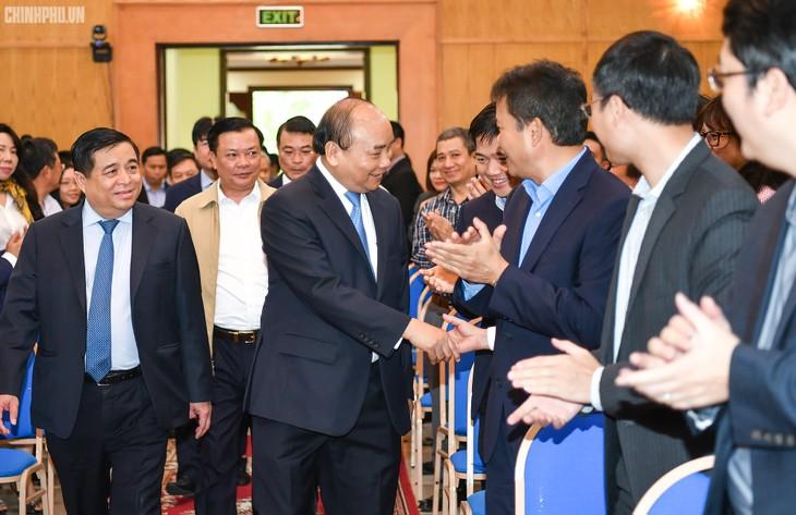 Thủ tướng Nguyễn Xuân Phúc làm việc với Bộ Kế hoạch và Đầu tư - ảnh 1