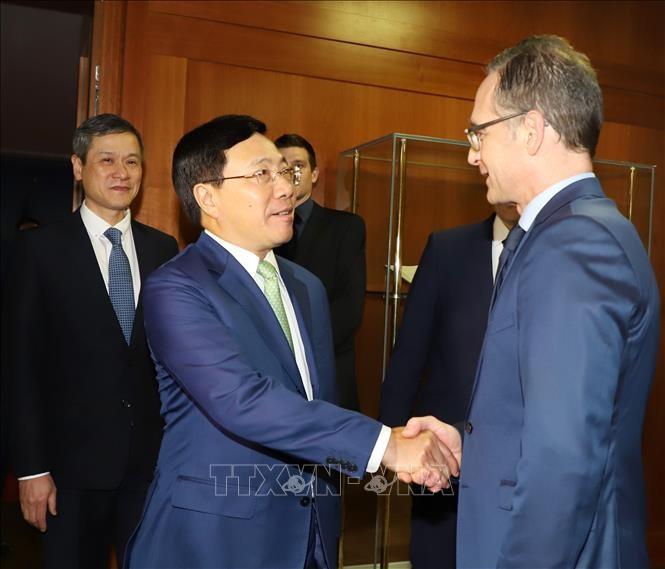 Đức khẳng định sẽ nỗ lực thúc đẩy việc ký và phê chuẩn Hiệp định thương mại tự do Việt Nam - EU  - ảnh 1