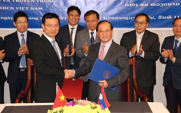 Việt Nam – Lào: Ký kết thỏa thuận hợp tác trên lĩnh vực  thông tin – truyền thông - ảnh 1