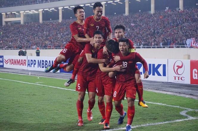 Thắng đậm Thái Lan 4-0, Việt Nam giành vé dự VCK U.23 châu Á 2020 - ảnh 2