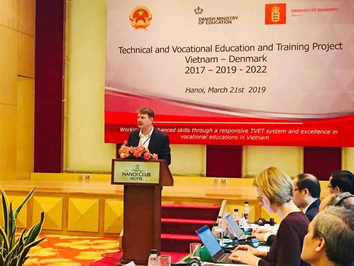 Hợp tác ngành chiến lược giáo dục dạy nghề giữa Việt Nam và Đan Mạch - ảnh 3