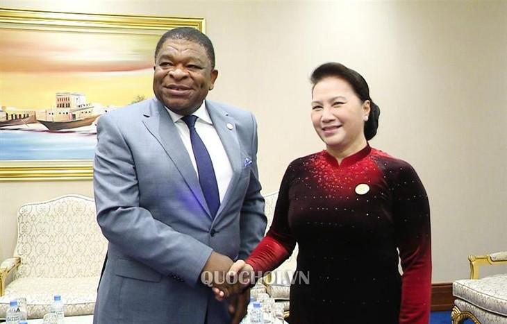 Chủ tịch Quốc hội Nguyễn Thị Kim Ngân tiếp Tổng Thư ký Liên minh Nghị viện thế giới  - ảnh 1