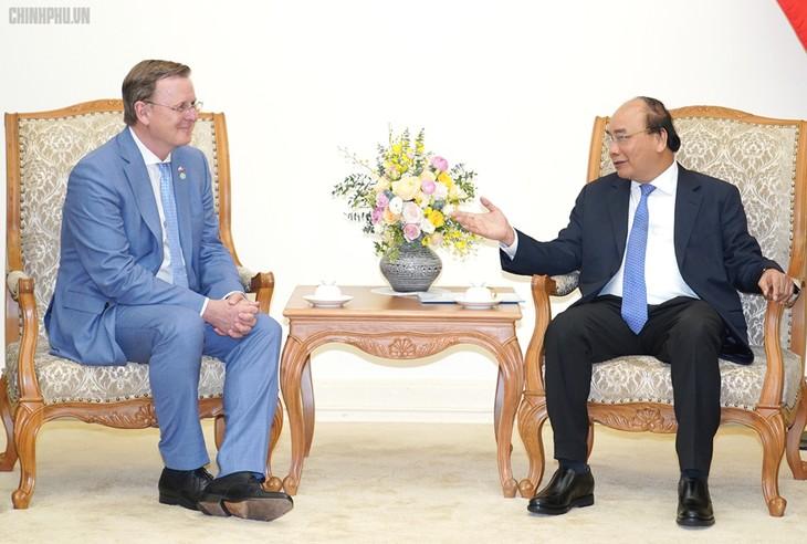 Thủ tướng Nguyễn Xuân Phúc tiếp Thủ hiến bang Thuringel, CHLB Đức - ảnh 1