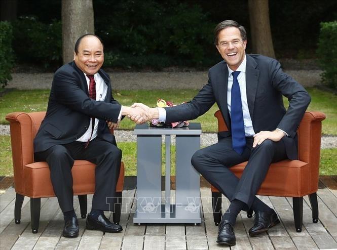 Thủ tướng Vương quốc Hà Lan bắt đầu thăm chính thức Việt Nam - ảnh 1