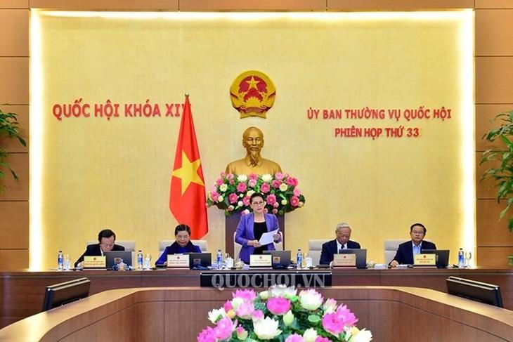 Khai mạc phiên họp 33 Ủy ban Thường vụ Quốc hội - ảnh 1