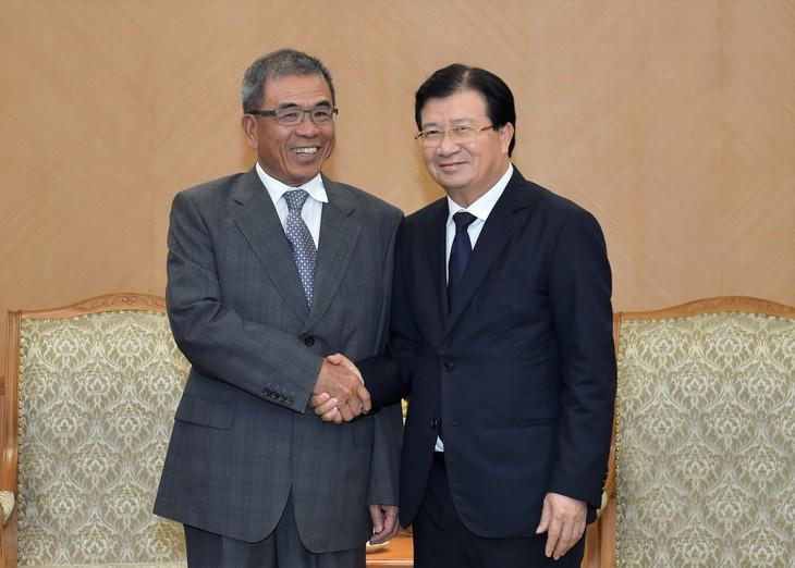 Phó Thủ tướng Trịnh Đình Dũng tiếp Phó Chủ tịch Tập đoàn Compal  - ảnh 1
