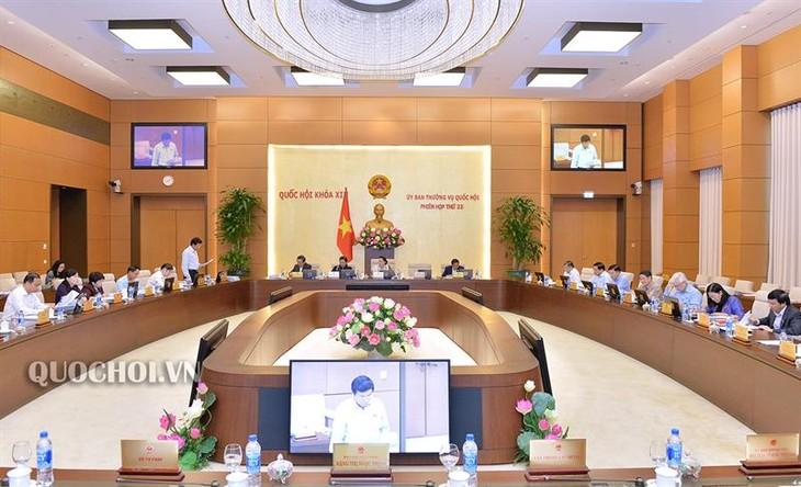 Ủy ban Thường vụ Quốc hội cho ý kiến về việc chương trình giám sát của Quốc hội - ảnh 1