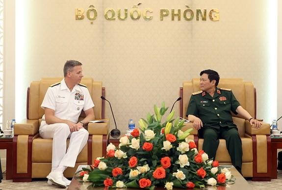 Thúc đẩy hợp tác quốc phòng Việt Nam - Hoa Kỳ - ảnh 1