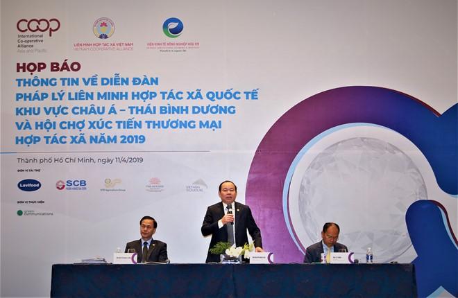 Đại diện 107 hợp tác xã của 33 quốc gia sẽ đến Việt Nam - ảnh 1