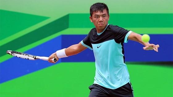 Tay vợt Lý Hoàng Nam vào vòng chính giải quần vợt Challenge tại Italia - ảnh 1