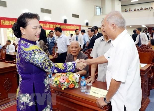 Chủ tịch Quốc hội Nguyễn Thị Kim Ngân dự Lễ kỷ niệm 44 năm Ngày Giải phóng Cần Thơ - ảnh 2