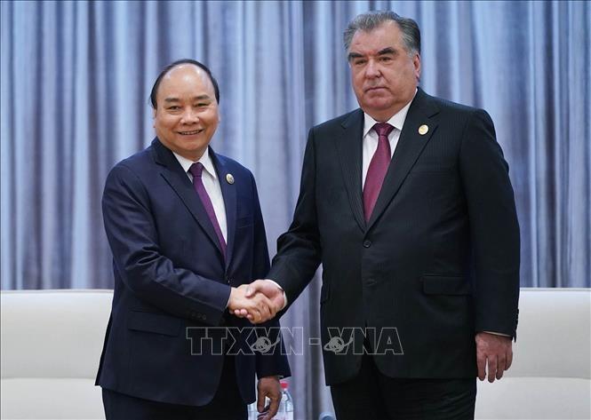 Thủ tướng Nguyễn Xuân Phúc gặp gỡ Tổng thống Tjikistan và tiếp một số doanh nghiệp nước ngoài - ảnh 1