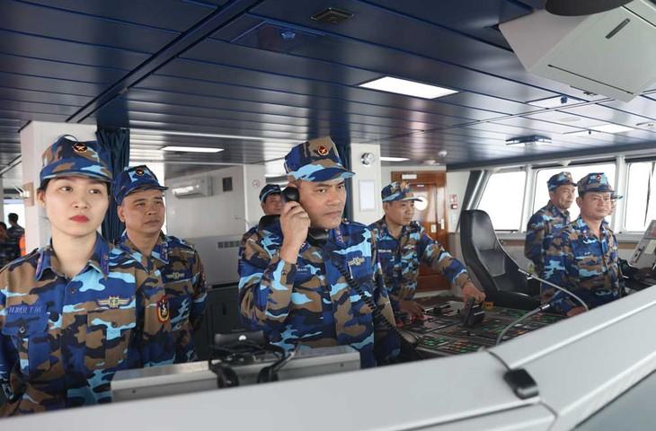 Kết thúc tốt đẹp chuyến kiểm tra liên hợp nghề cá Việt Nam - Trung Quốc năm 2019 - ảnh 1